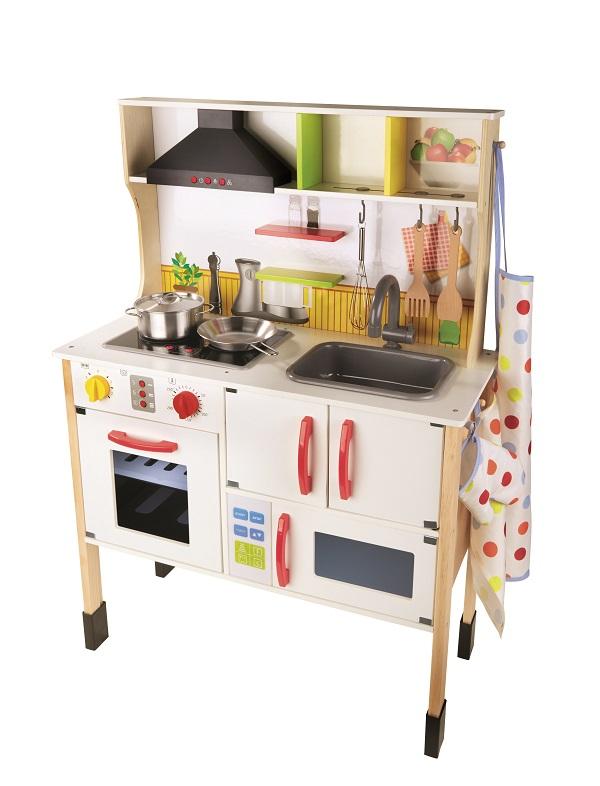 LIDL_Cuisine en bois pour enfant_49,99 euros