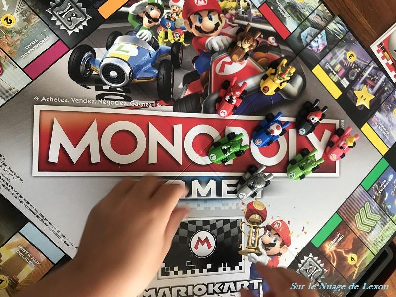 monopoly nintendo mario kart