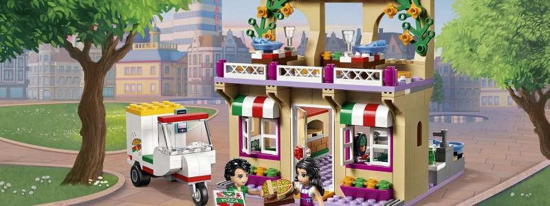 LEGO PIZZERIA HEARTLAKE CITY