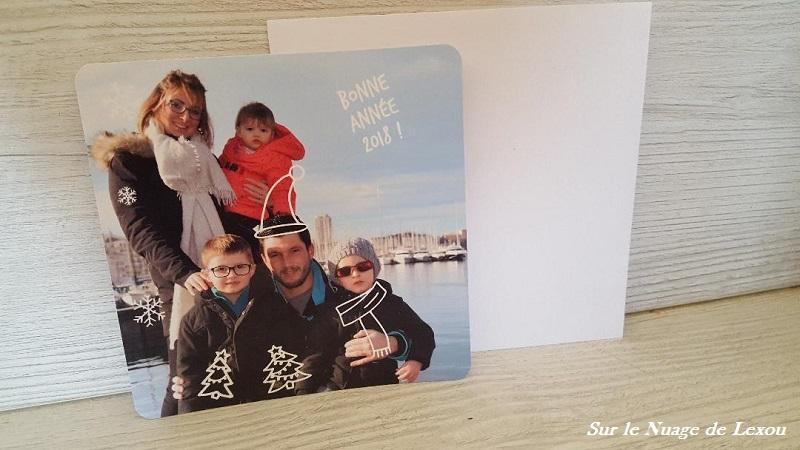 CARTE VOEUX FAMILLE POPCARTE