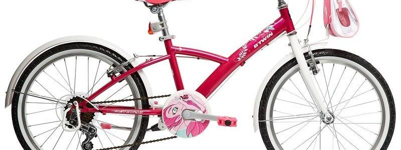 Un vélo, le modèle Mistigirl 500 de B'Twin chez Decathlon