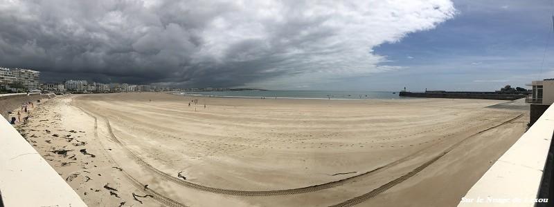vue panoramique sables d'Olonne