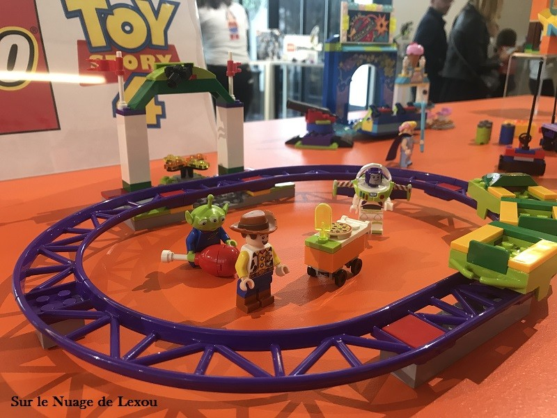 CIRCUIT TOY STORY LEGO