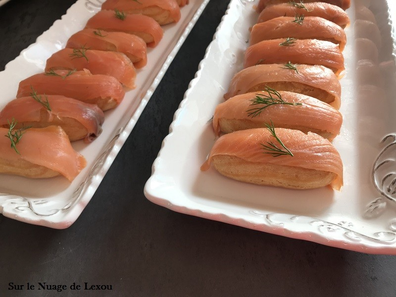ECLAIR SALE SAUMON