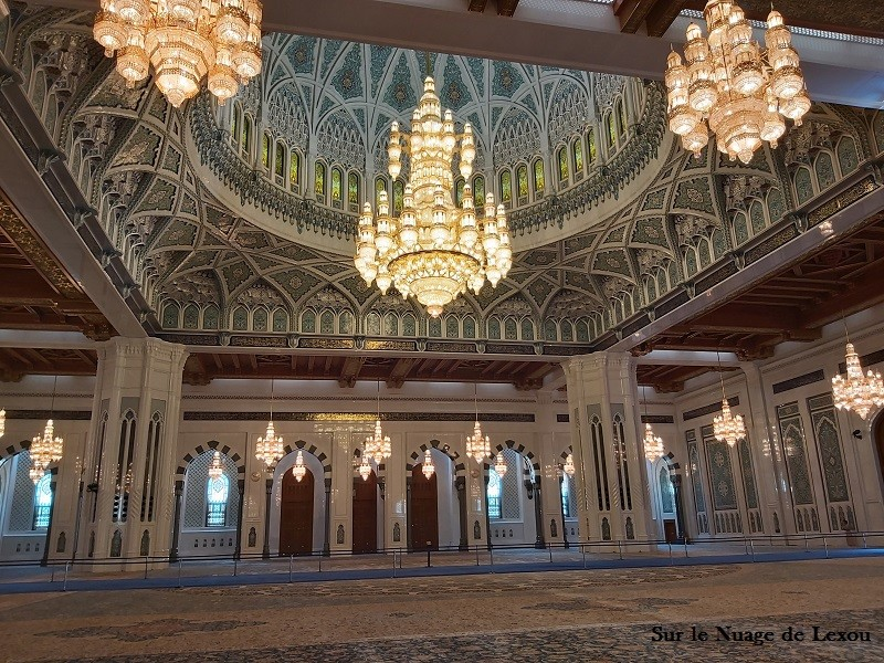 MOSQUEE INTERIEUR MASCATE