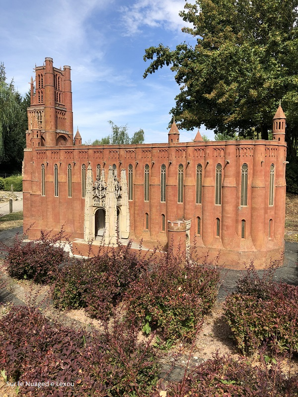 CATHEDRALE ALBI FRANCE MINIATURE