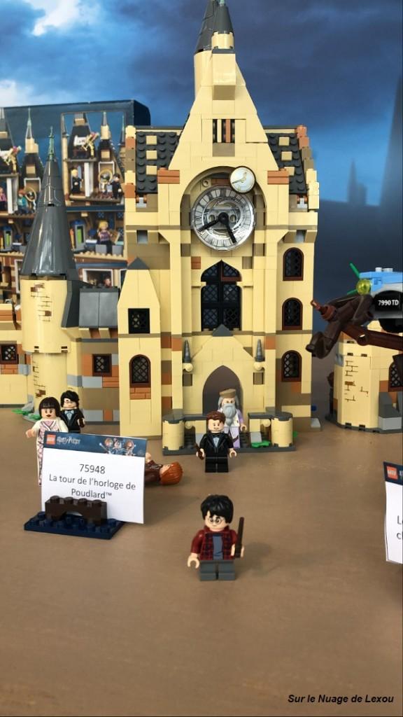 LA TOUR DE L'HORLOGE POUDLARD LEGO