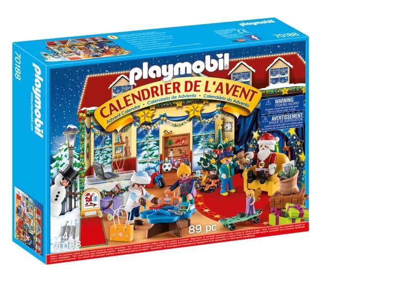 Box calendrier Boutique de jouet PLAYMOBIL
