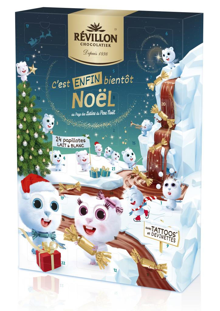 Calendrier de l'Avent Révillon Chocolatier